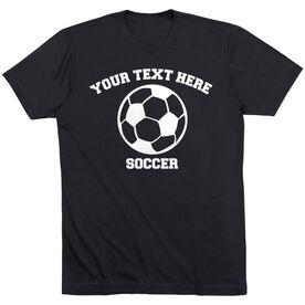 Custom Soccer T-Shirt Short Sleeve