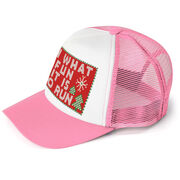 Running Trucker Hat - Oh What Fun It Is To Run