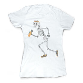 Vintage Running Fitted T-Shirt - Never Stop Running