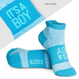 Socrates® Woven Performance Sock - It's a Boy