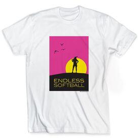 Softball Tshirt Short Sleeve Endless Softball
