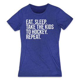 Hockey Women's Everyday Tee - Eat Sleep Take The Kids To Hockey