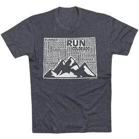 Running Short Sleeve T-Shirt - Colorado State Runner