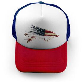 Fly Fishing Trucker Hat - American Lefty