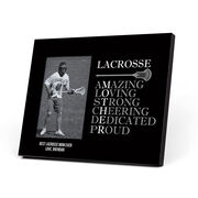 Guys Lacrosse Photo Frame - Mother Words