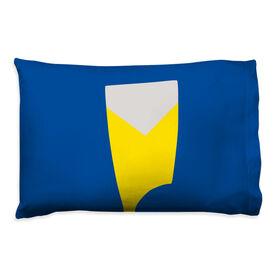Crew Pillowcase - Custom Oar Colors V Stripe