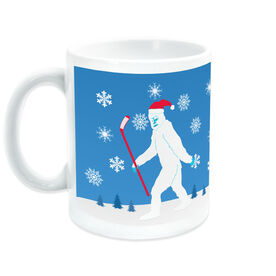 Hockey Coffee Mug Abominable Snowman