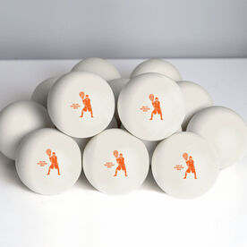 Guys Lacrosse Ball - Personalized Goalie