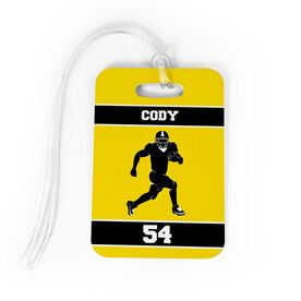 Football Bag/Luggage Tag - Personalized Running Back