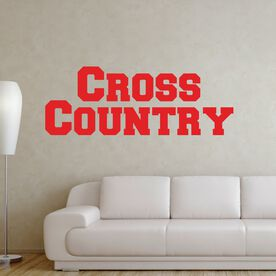Cross Country Removable GoneForaRUNGraphix Wall Decal