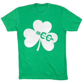 Cross Country Short Sleeve T-Shirt - Shamrock With Cross Country CC