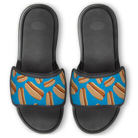 Personalized Repwell® Slide Sandals - Hot Dogs