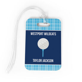 Golf Bag/Luggage Tag - Personalized Golf Team with Ball