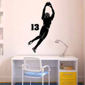 Personalized The Perfect Catch Silhouette Removable ChalkTalkGraphix Wall Decal