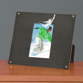 Snowboarding Photo Display Frame Snowboarder Silhouette