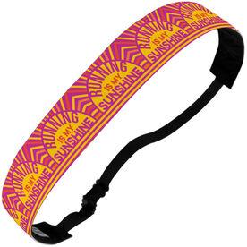 Running Juliband No-Slip Headband - Running Is My Sunshine