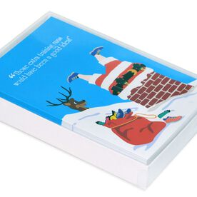 Reindeer Wisdom Greeting Card - Box Set of 12