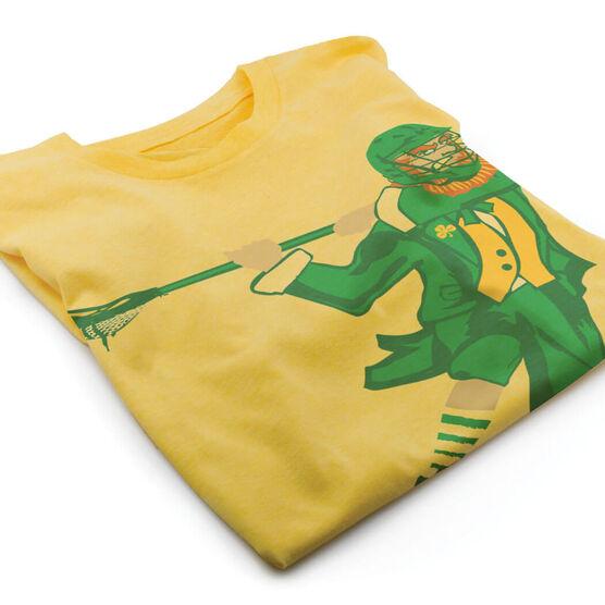 Guys Lacrosse Vintage T-Shirt - St. Hat-Tricks
