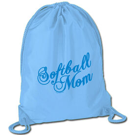 Softball Sport Pack Cinch Sack Mom Script