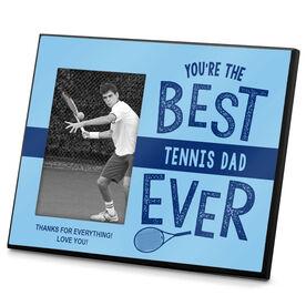 Tennis Photo Frame Best Tennis Dad Ever