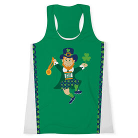 Women's Performance Tank Top - Lucky Leprechaun Runner