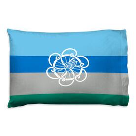 Triathlon Pillowcase - Logo With Horizontal Stripes