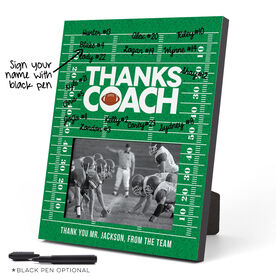 Football Photo Frame - Coach (Autograph)