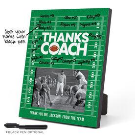 Football Photo Frame - Coach (Autograph)
