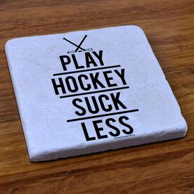 Hockey Stone Coaster Play Hockey Suck Less