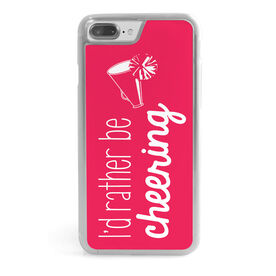 Cheerleading iPhone® Case - I'd Rather Be Cheering