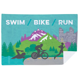 Triathlon Premium Blanket - Tri Country