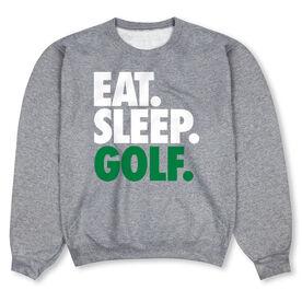 Golf Crew Neck Sweatshirt - Eat Sleep Golf