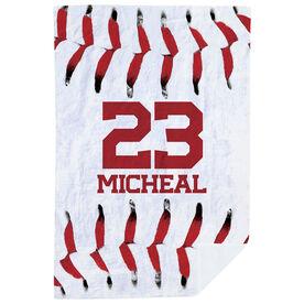 Baseball Premium Blanket - Stitches