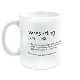 Wrestling Coffee Mug Definition