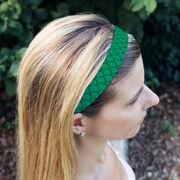 Athletic Juliband No-Slip Headband - Mermaid Scales