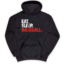 Baseball Standard Sweatshirt Eat. Sleep. Baseball.