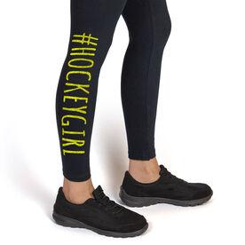 Girls Hockey Leggings #HockeyGirl