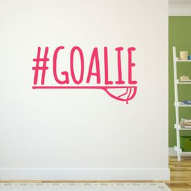 Lacrosse Removable ChalkTalkGraphix Wall Decal #GOALIE