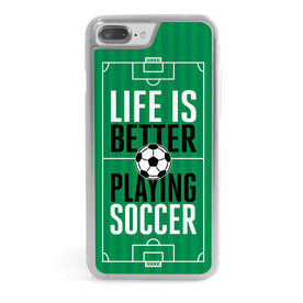 Soccer iPhone® Case - Life is Better Playing Soccer