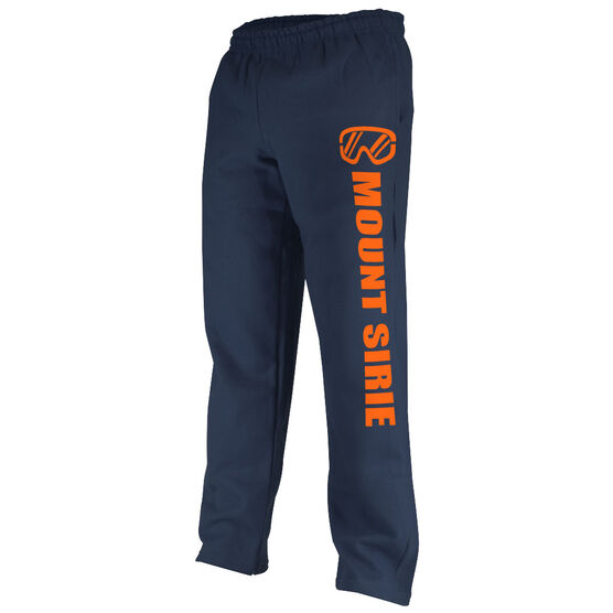 Skiing & Snowboarding Fleece Sweatpants - Goggles Your Text Here