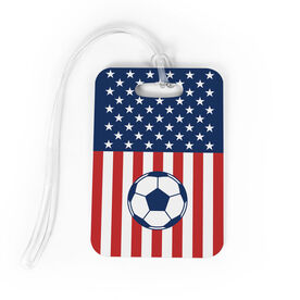 Soccer Bag/Luggage Tag - USA Soccer Player