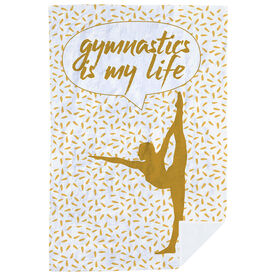 Gymnastics Premium Blanket - Gymnastics Is My Life