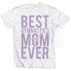Vintage Gymnastics T-Shirt - Best Mom Ever