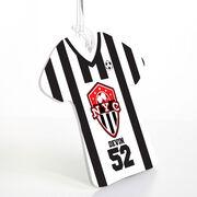 Soccer Jersey Bag/Luggage Tag - Custom Team Logo