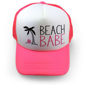 Volleyball Trucker Hat Beach Babe
