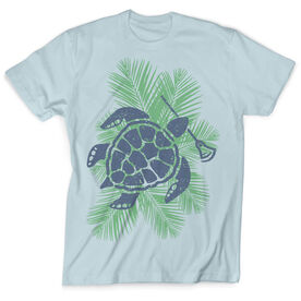 Lacrosse Vintage T-Shirt - Tropical Turtle Time