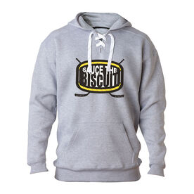 Hockey Sport Lace Sweatshirt Sauce the Biscuit