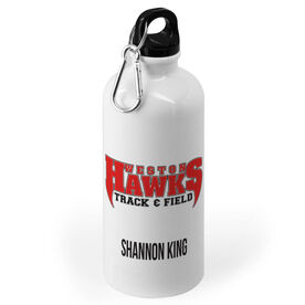Track and Field 20 oz. Stainless Steel Water Bottle - Custom Logo