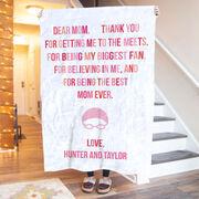 Swimming Premium Blanket - Dear Mom Heart