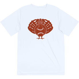 Softball Short Sleeve Performance Tee - Turkey Player